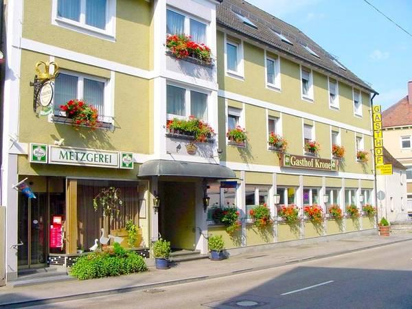Gasthof u. Metzgerei zur Krone - Вид снаружи