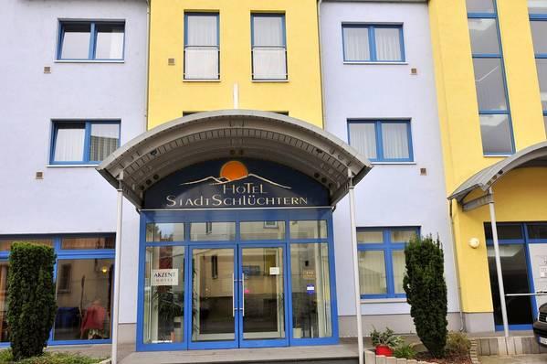 Akzent Hotel Stadt Schlüchtern - buitenkant
