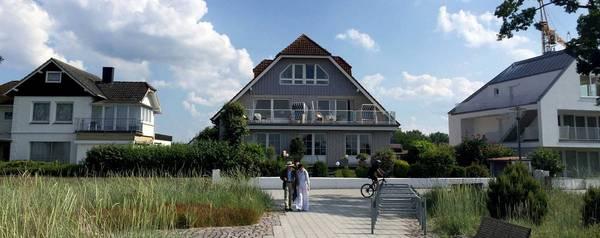 Strandhaus Appartements - Aussenansicht