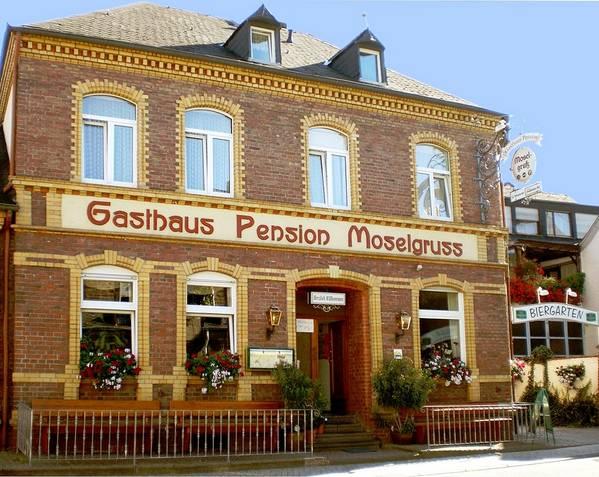 Gasthaus-Pension Moselgruß - Exteriör
