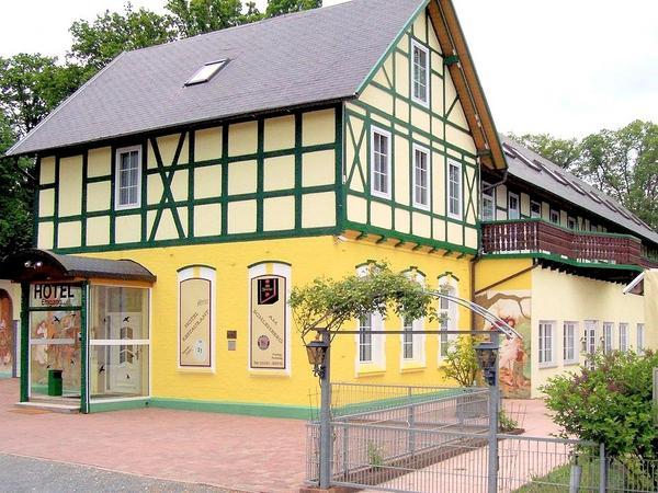 Hotel Restaurant Am Schlehberg - Vista externa