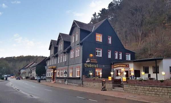 Harzbaude - Gasthaus Bodetal - Widok
