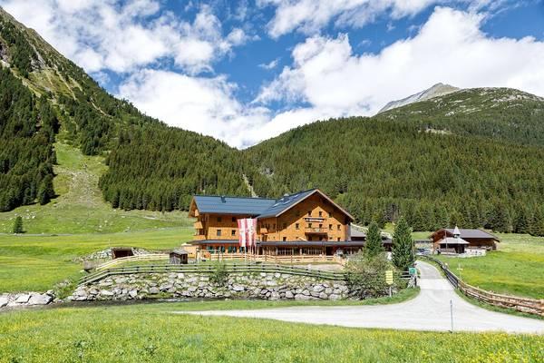 Alpengasthof Krimmler Tauernhaus - pogled od zunaj