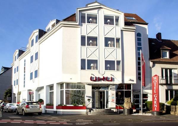 Hotel UHU Köln - pogled od zunaj