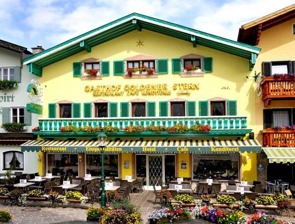 Hotel Goldener Stern - Вид снаружи