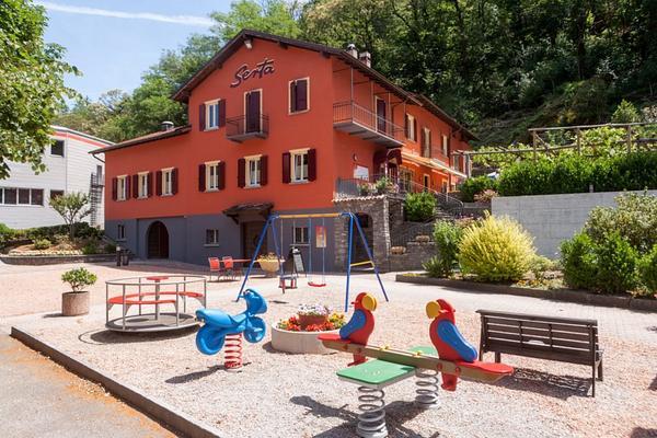 Ristorante Albergo Grotto Serta - Вид снаружи