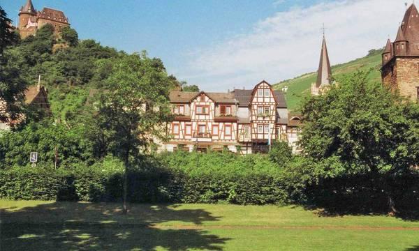 Rhein Hotel Bacharach & Stüber's Restaurant - Vista al exterior