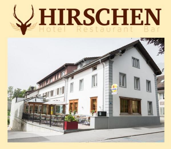 Hotel Hirschen - buitenkant