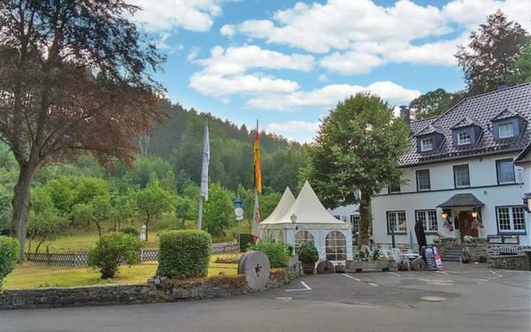 Landhotel Herscheider Mühle - pogled od zunaj
