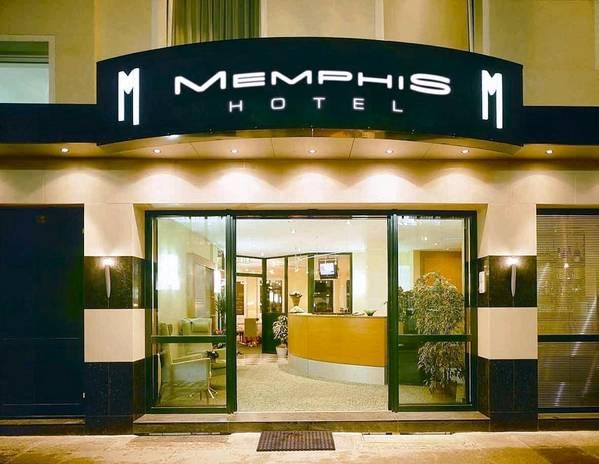 Memphis Hotel - Vista externa