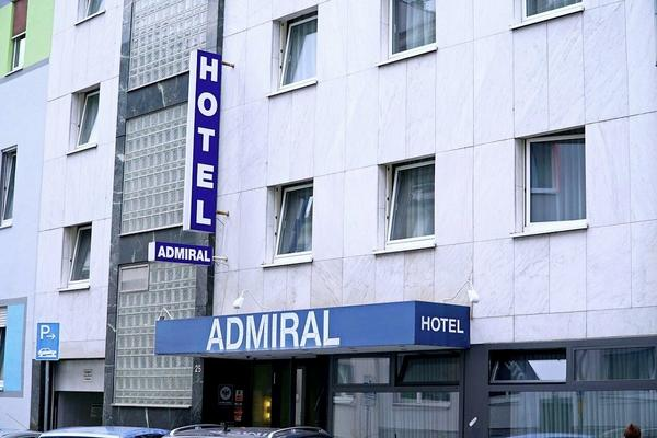 Hotel Admiral - Outside