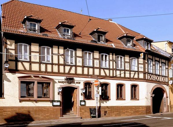 Hotel Darmstädter Hof - Aussenansicht
