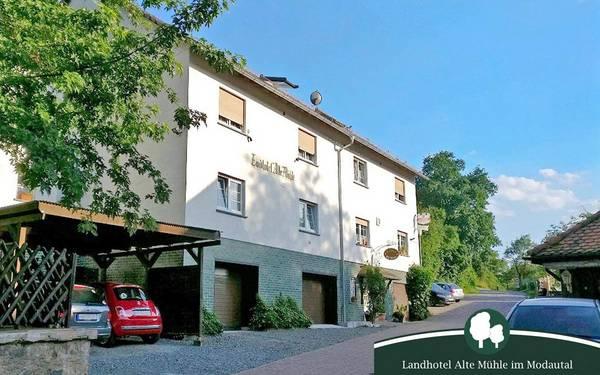 Landhotel Alte Mühle - pogled od zunaj