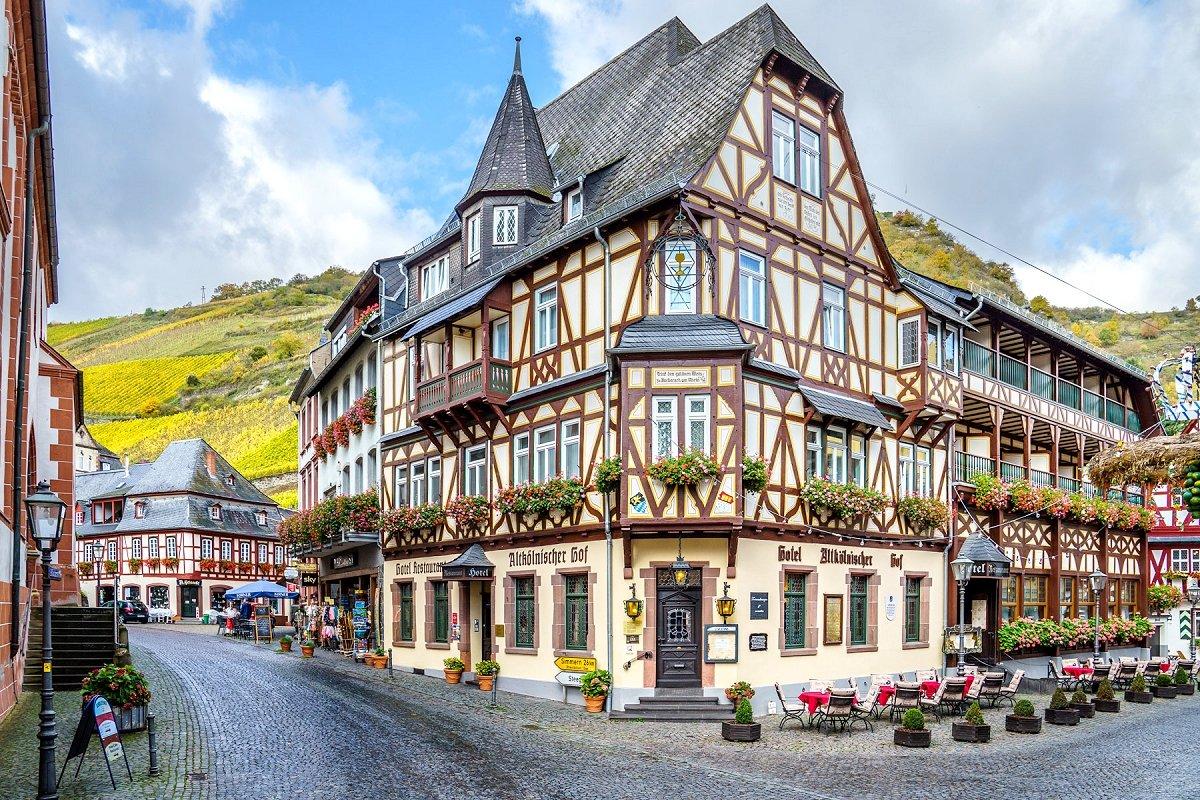 Hotel Altk 246 Lnischer Hof In 55422 Bacharach Am Rhein