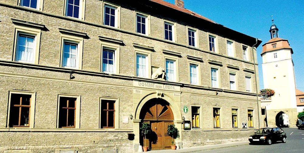 ホテル案内: Gasthof Zum Goldenen Löwen in Mainbernheim