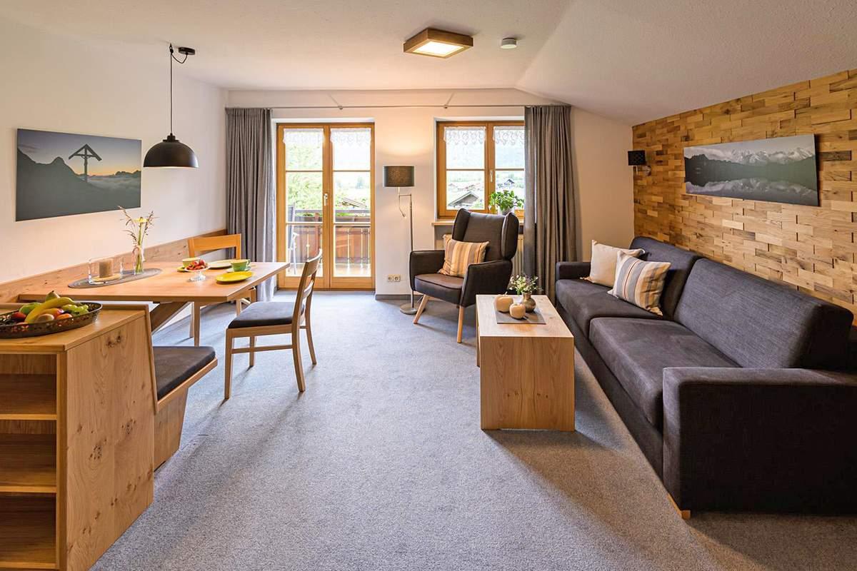 Appartamento per vacanze in Bolsterlang: Fewo Landhaus Lacher