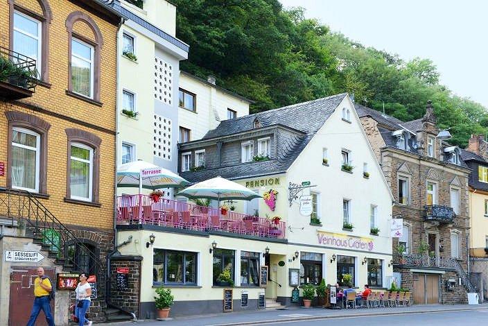 weinhaus gräfen hotel · pension · restaurant · café in 56812 cochem