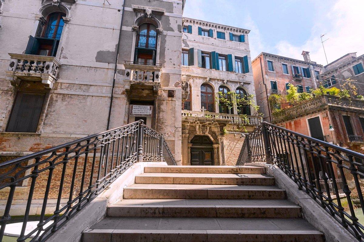H tel in venezia foresteria valdese venezia d tails for Hotel chercher