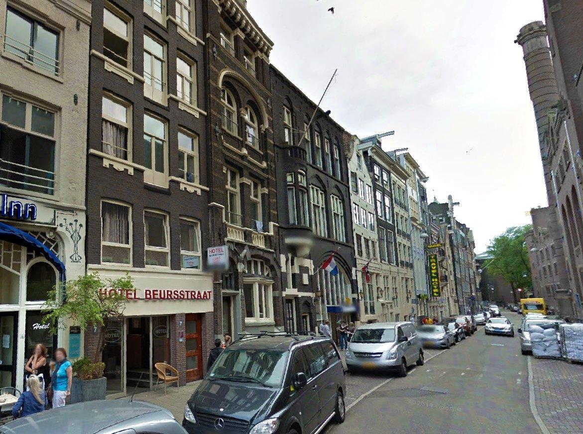 Hotel Beursstraat Budget Hotel Amsterdam In 1012 Jt
