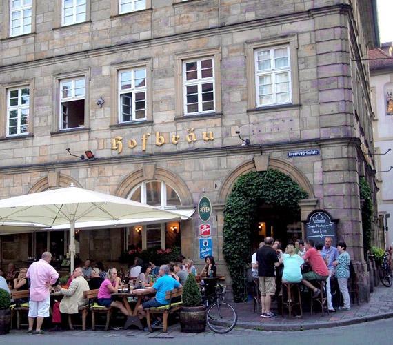 Ресторан Hofbräu Бамберг